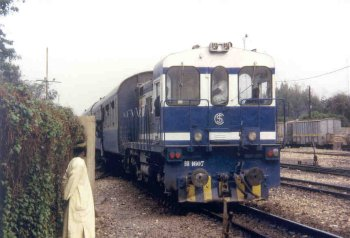 Train Bleu Dakar 2